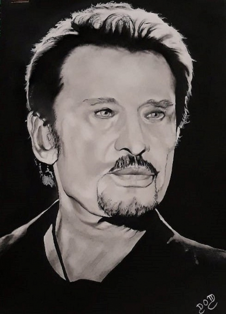 Johnny Hallyday by domter